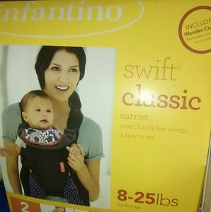 (not available))Baby carrier